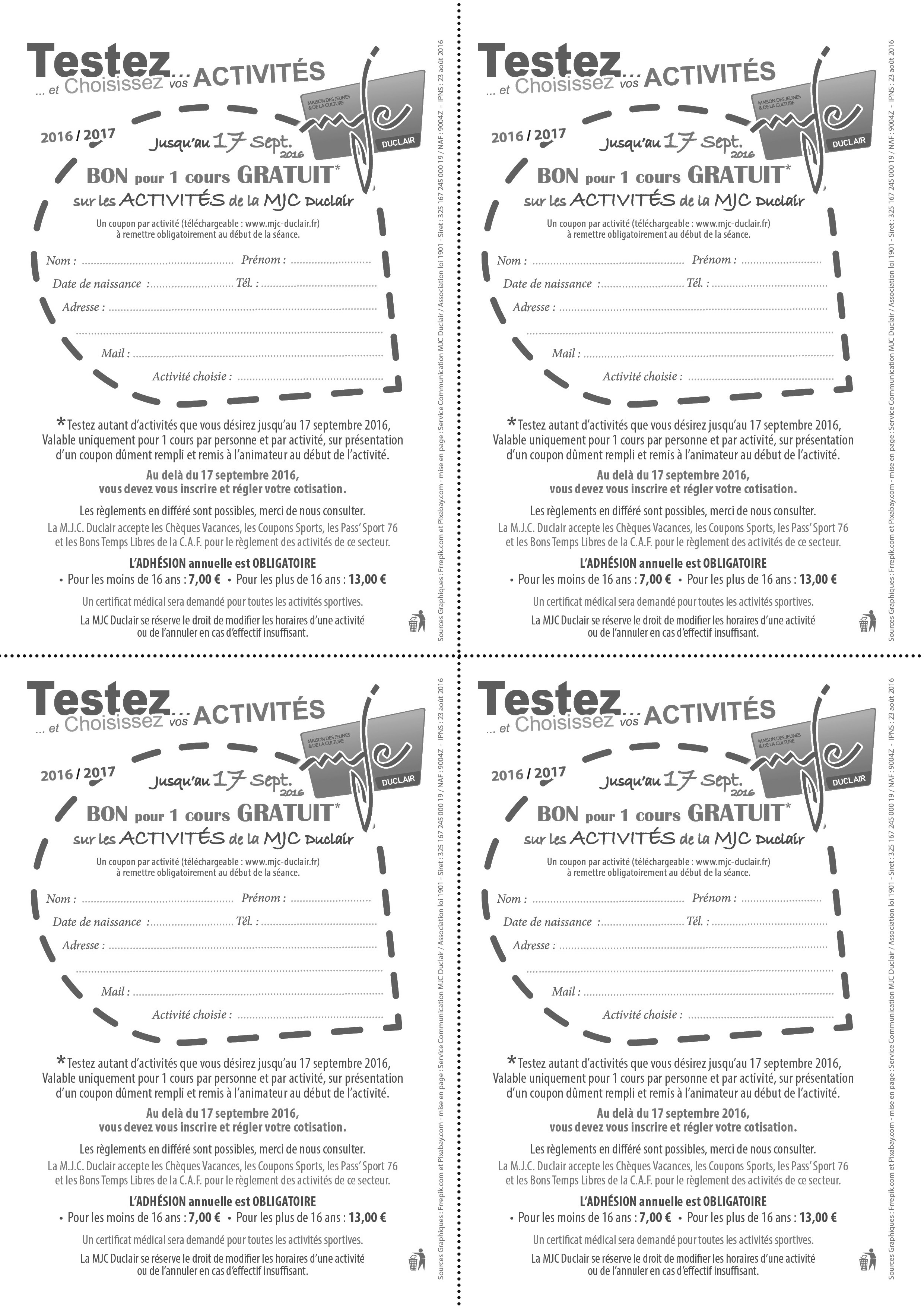 Web coupons gratuit